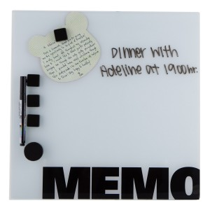 MEMO BOARD GLASS