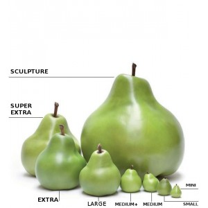 PERA IN CERAMICA_CERAMIC PEAR Large