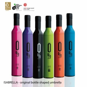"UMBRELLA IN A BOTTLE ""Isabrella"""