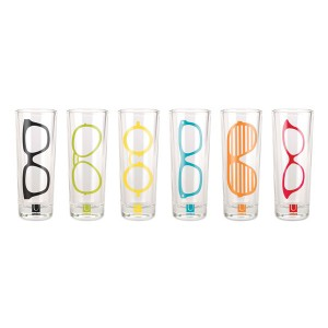 "SET BICCHIERI ""GLASSES"""