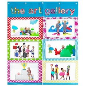 ART GALLERY espositore disegni bambino