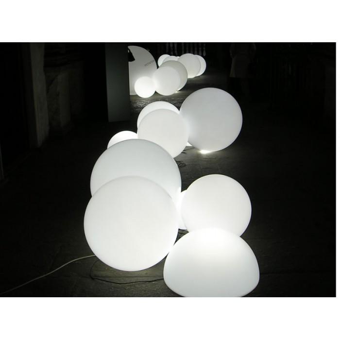 Lampada globo per interini bianco for Lampada globo